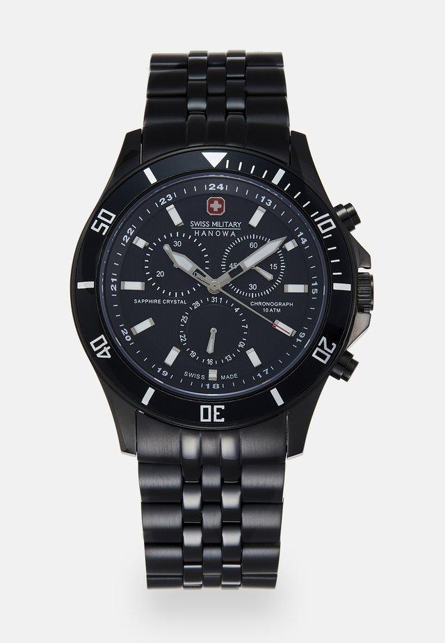 FLAGSHIP CHRONO II - Zegarek chronograficzny - black