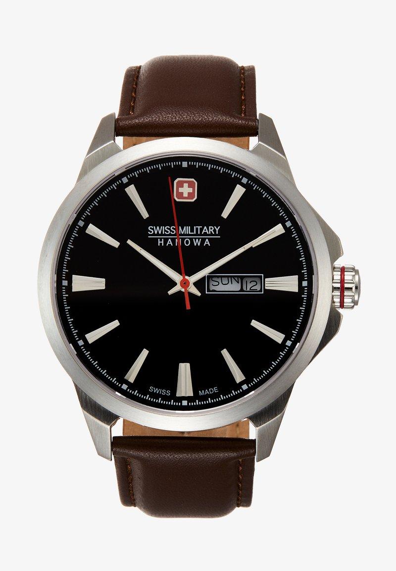 Swiss Military Hanowa - DAY DATE CLASSIC - Horloge - brown/black