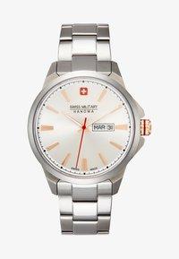 Swiss Military Hanowa - DAY DATE CLASSIC - Watch - silver-coloured - 0