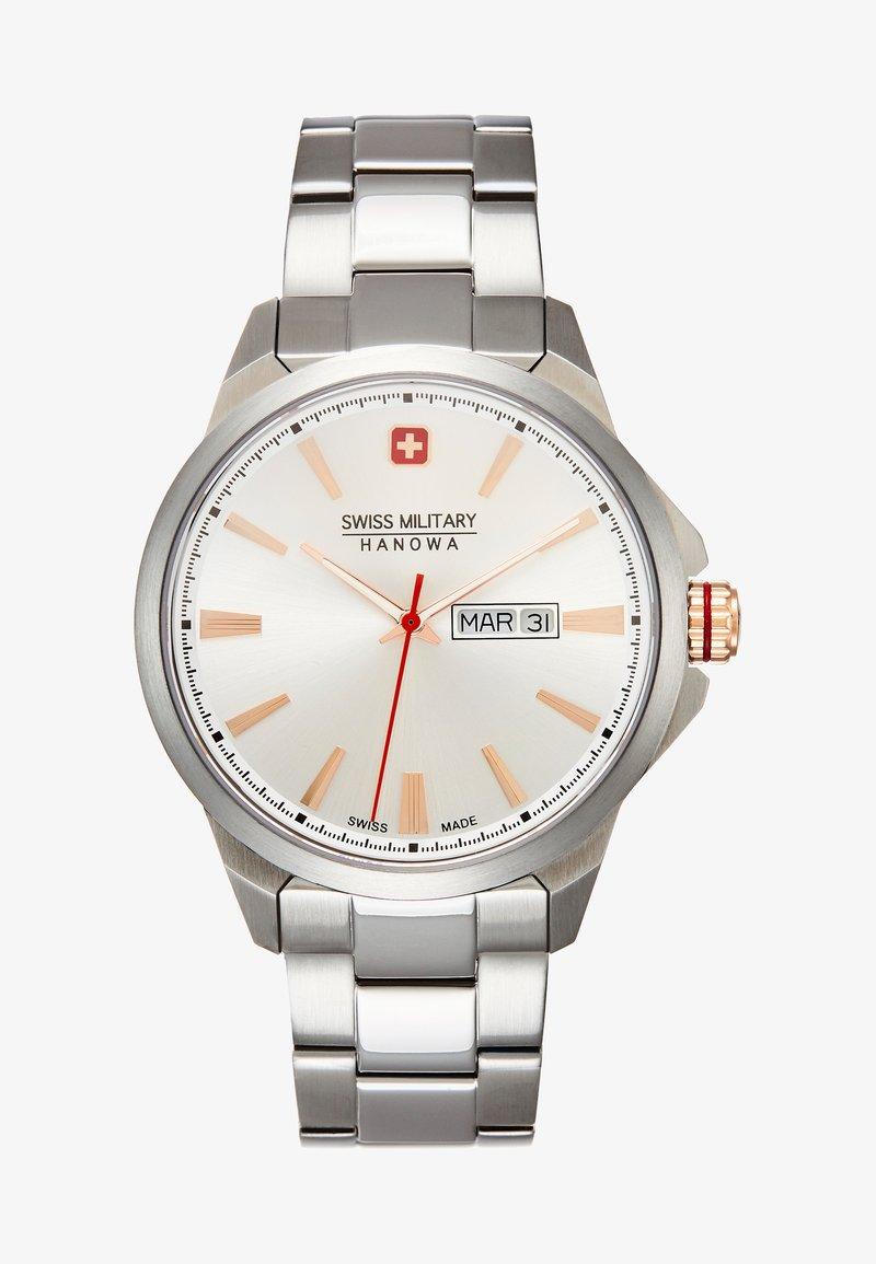 Swiss Military Hanowa - DAY DATE CLASSIC - Watch - silver-coloured
