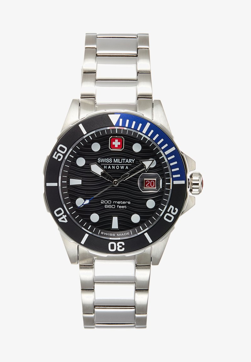 Swiss Military Hanowa - OFFSHORE DIVER - Orologio - black/silver-coloured
