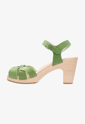 KRINGLAN - Clogs - grass green