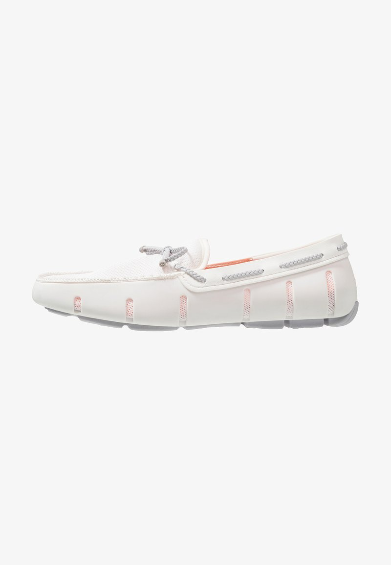Swims - LACE LOAFER - Mocasines - white/alloy
