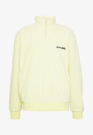 UNISEX LOOSE ZIPPED - Zip-up hoodie - yellow