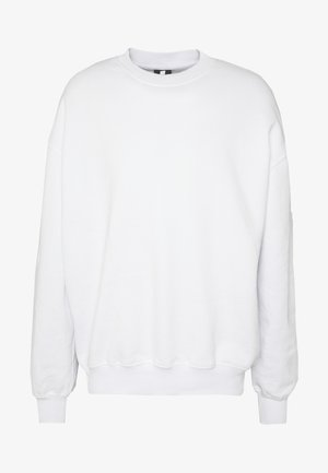 UNISEX BIG LOOSE CREW - Sweatshirt - white