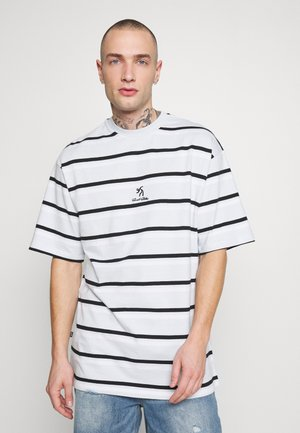 LOOSE TEE UNISEX - Print T-shirt - blue/white/black