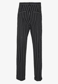 Sweet SKTBS - UNISEX SWEET 80S CHINOS - Trousers - black/white - 1
