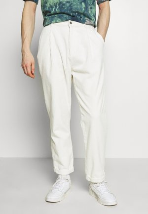 SWEET 80S UNISEX - Trousers - white