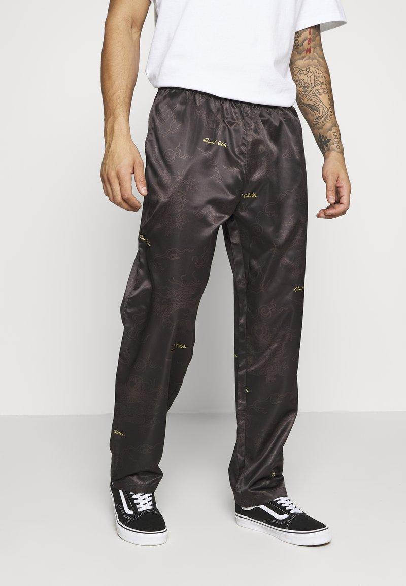 Sweet SKTBS - SWEET LOOSE SURFER PANTS - Bukser - black