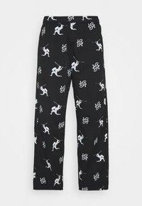 Sweet SKTBS - UNISEX SWEET LOOSE SURFER PANT - Pantalon classique - black - 0