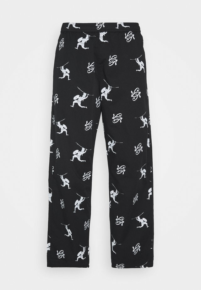 UNISEX SWEET LOOSE SURFER PANT - Trousers - black