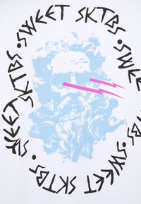 Sweet SKTBS - SWEET BIG LOOSE CREW - Sudadera con cremallera - white - 2