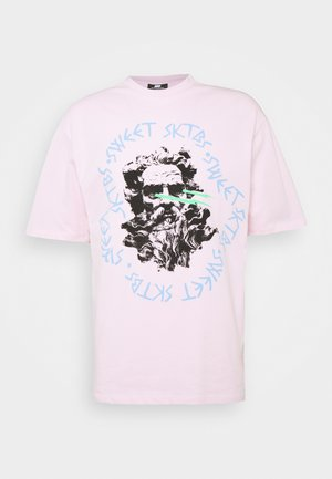 UNISEX SWEET 90S LOOSE TEE - T-shirts print - light pink
