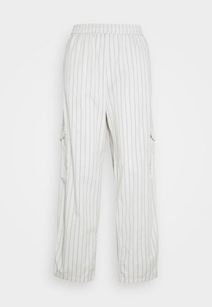 UNISEX SWEET LOOSE SURFER PANT - Kapsáče - cream/black