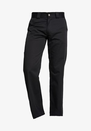 STRAIGHT WORK - Pantaloni - black