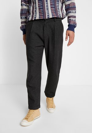SWEET 80'S TWEED - Trousers - grey