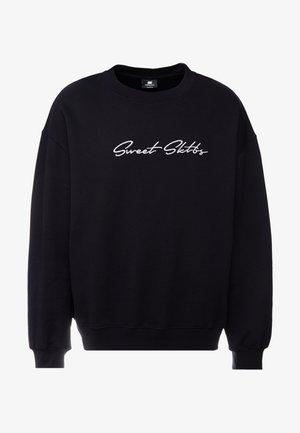 BIG LOOSE - Sweatshirt - black