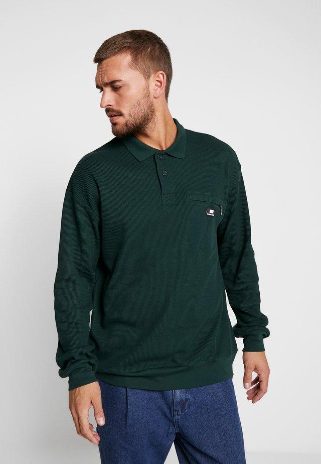 SWEET LOOSE COLLAR - Strickpullover - green