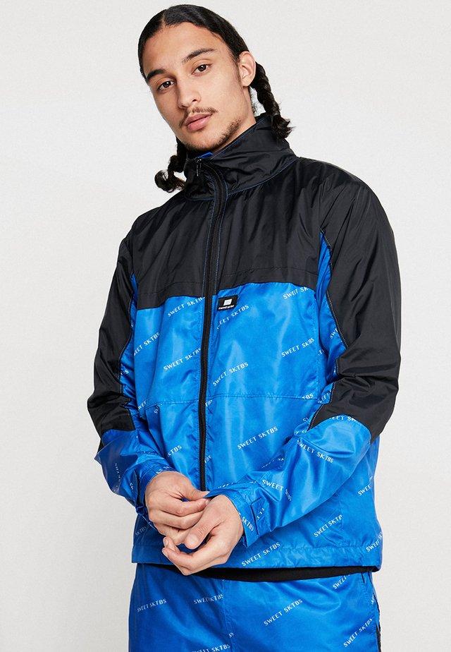 JACKET SWEET PACKABLE - Treningsjakke - blue/black