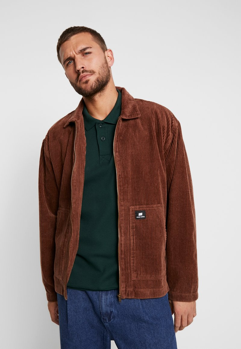 Sweet SKTBS - SWEET WORKER - Summer jacket - brown