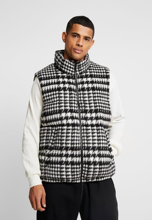 VEST CITY PADDED - Bodywarmer - black/grey