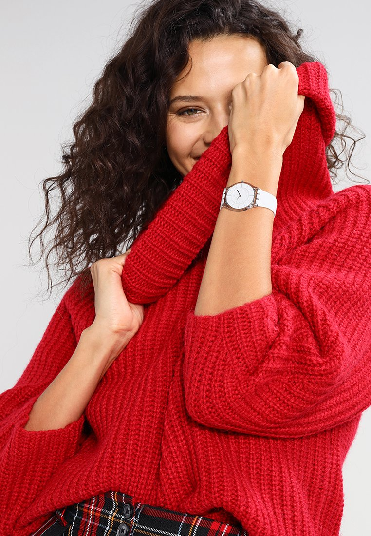 Swatch - WHITE CLASSINESS - Watch - white