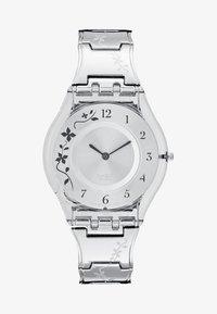 Swatch - CLIMBER FLOWERY - Hodinky - grey - 1