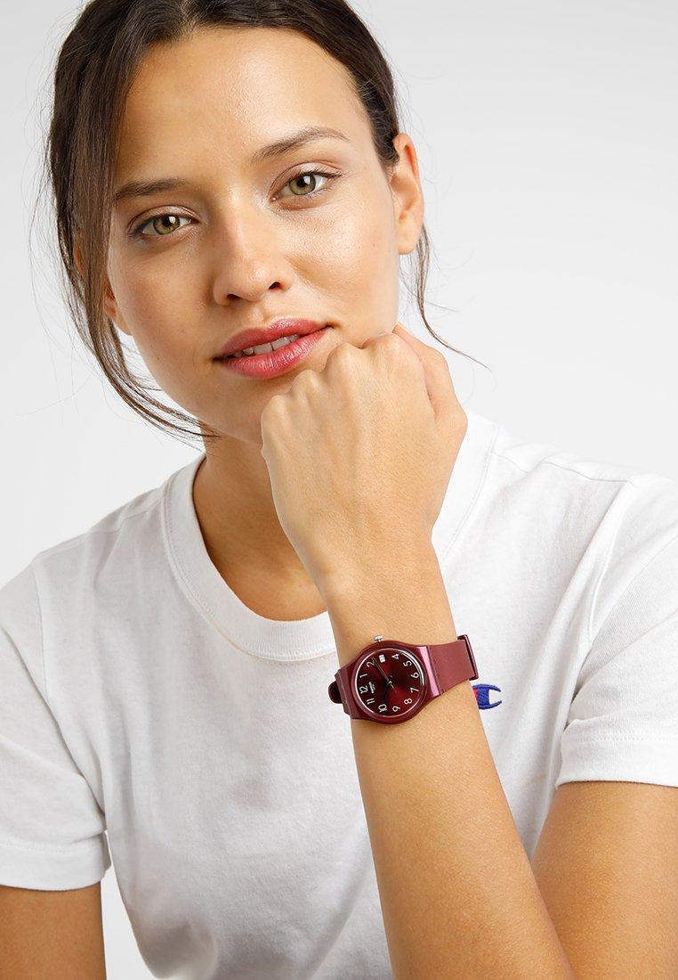 Swatch - REDBAYA - Horloge - bordeaux
