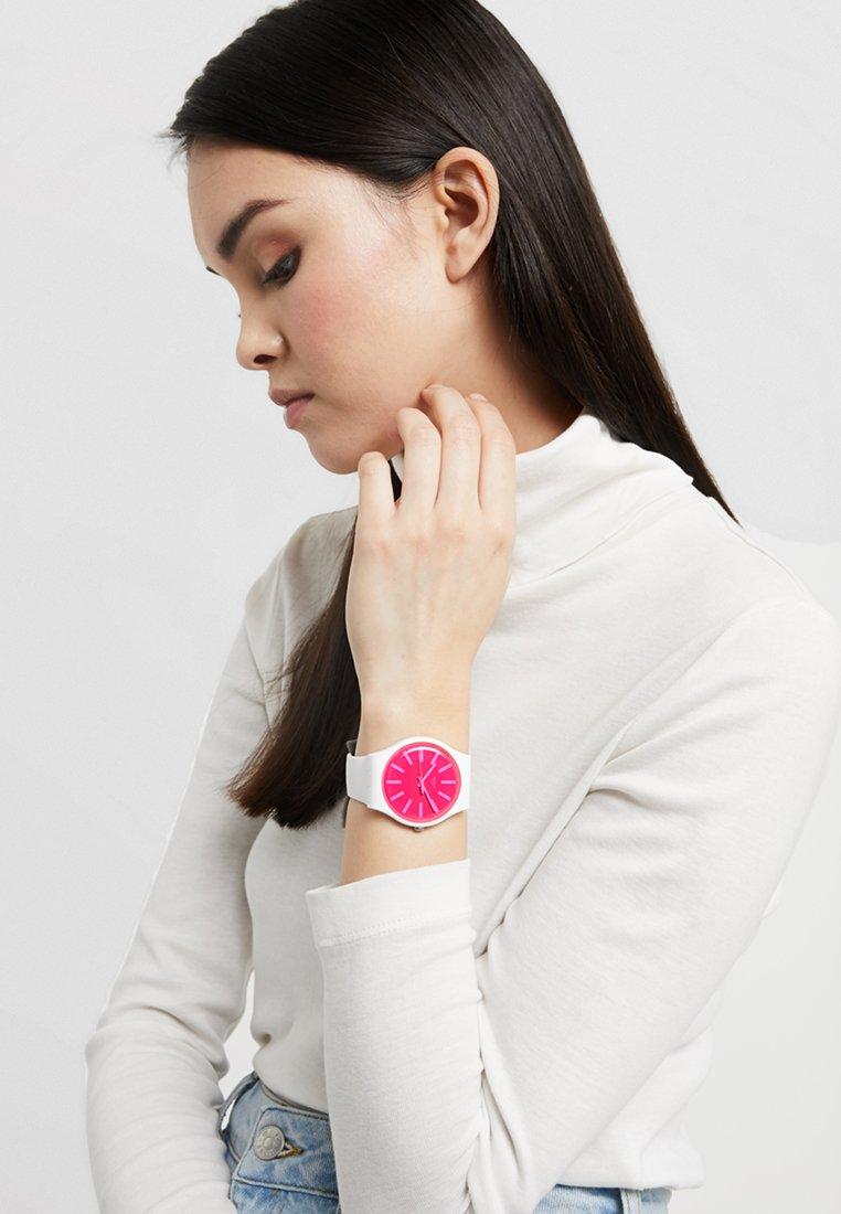 Swatch - STRAWBEON - Watch - white