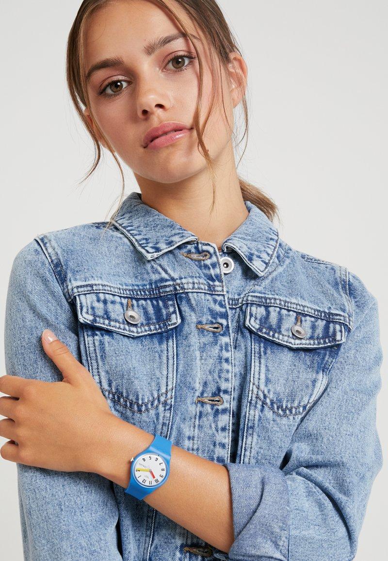 Swatch - SOBLEU - Uhr - blau