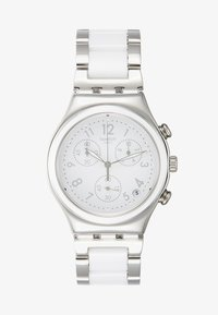 Swatch - SNOW DREAM - Chronograph watch - silver-coloured/white - 1