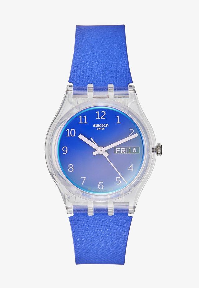 Uhr - blau