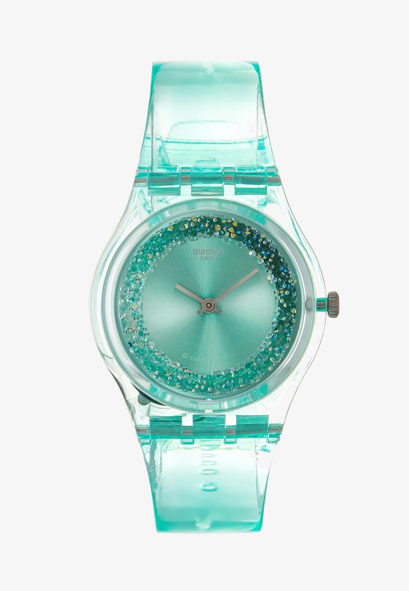 Swatch - AMAZO NIGHT - Montre - türkis
