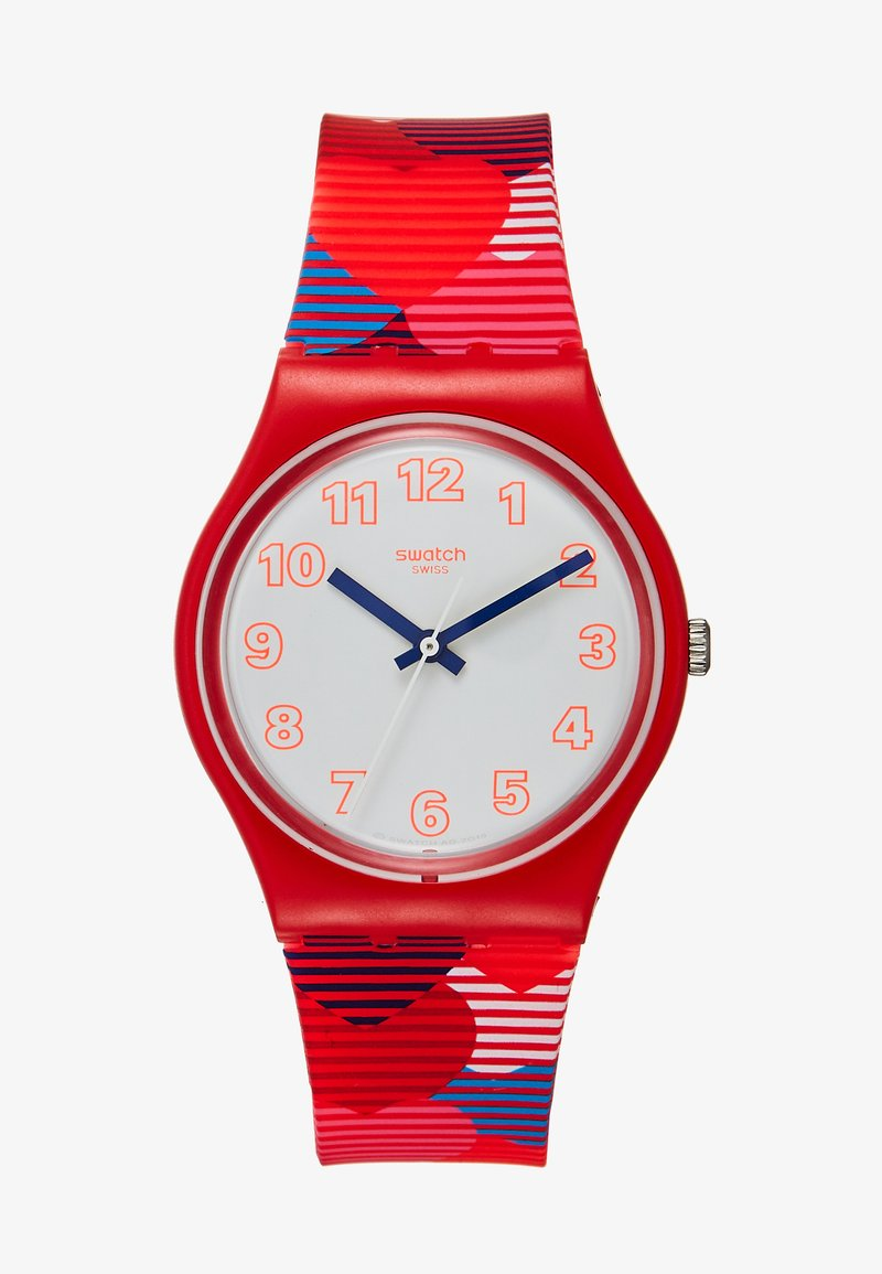 Swatch - HEARTS LOTS - Montre - rot
