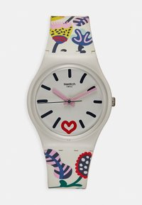Swatch - JUST FLOWERS - Hodinky - white - 0
