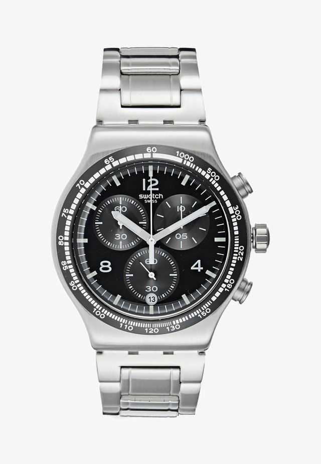 NIGHT FLIGHT - Zegarek chronograficzny - silver-coloured