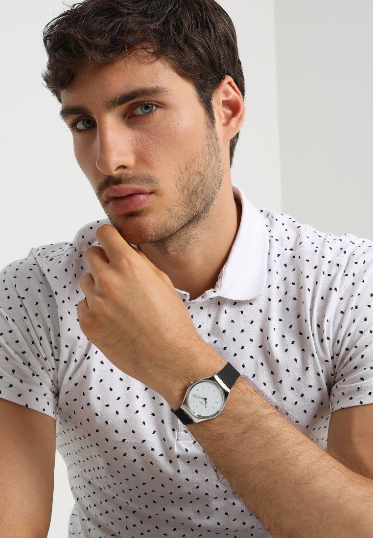 Swatch - SKIN IRONY - Horloge - black/white