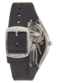 Swatch - SKIN IRONY - Klokke - black/white - 2
