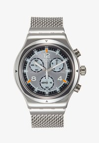 Swatch - TV TIME - Hodinky se stopkami - silver-coloured - 1