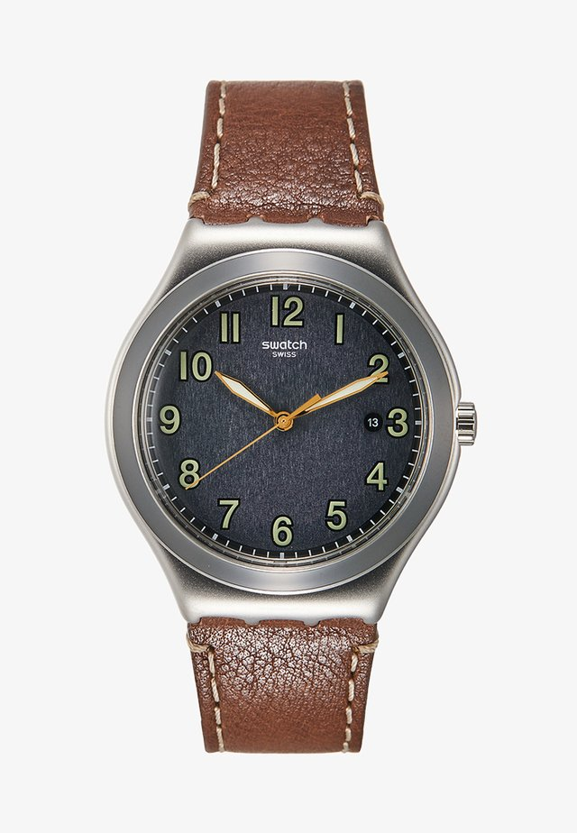 BRANDY - Watch - brown/silver-coloured