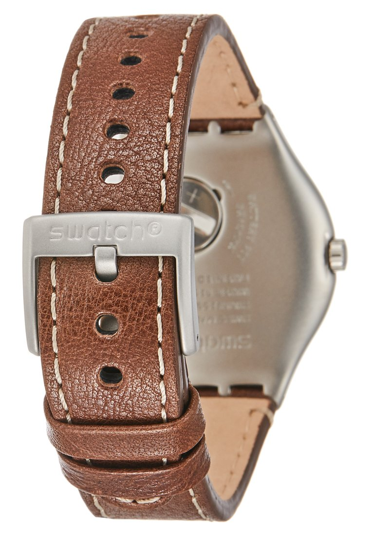 Swatch BRANDY - Ure - brown/silver-coloured