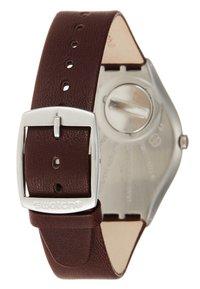 Swatch - SKINOUTONO - Watch - brown - 2