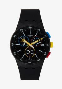 Swatch - ONE - Chronograph watch - black - 1