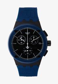Swatch - X-DISTRICT - Kronografklokke - navy - 1