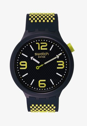 BBNEON - Klokke - black/yellow