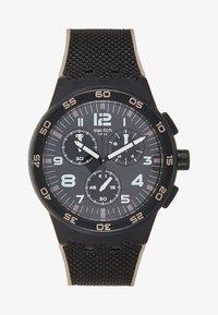 Swatch - Hodinky se stopkami - black - 0