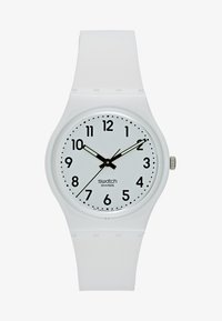 Swatch - JUST WHITE SOFT - Hodinky - white - 1