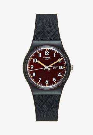 SIR RED - Horloge - schwarz