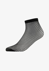 Swedish Stockings - VERA NET SOCK - Ponožky - black - 1