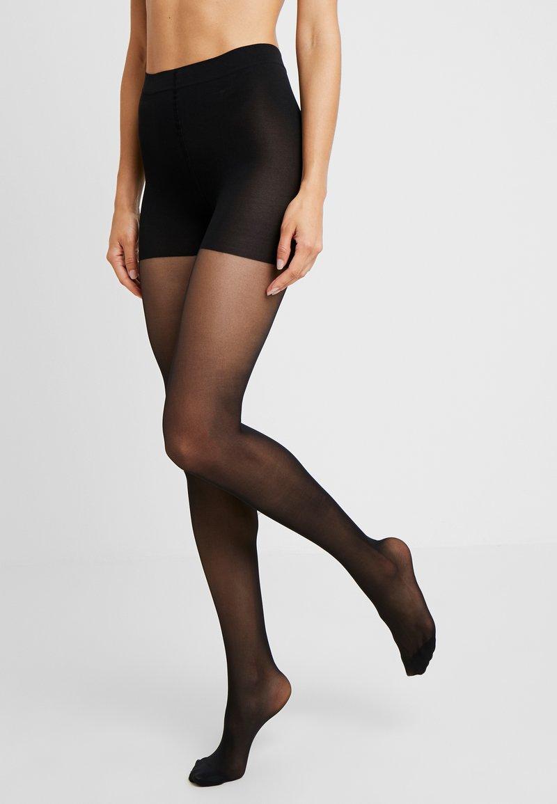 Swedish Stockings - MOA CONTROL TOP 20 DEN - Punčocháče - black